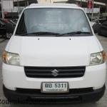 รถกระบะ รถมือสอง รถราคาถูก ยี่ห้อ Suzuki (ซูซุกิ แครี่) รุ่น Carry สีขาว ปี 2012 ขนาดเครื่อง 1.6 LPG ระบบเกียร์ M/T (เกียร์กระปุก) #UC109