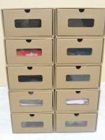 กล่องอเนกประสงค์ มีความแข็งแรง สามารถใส่รองเท้า หนังสือการ์ตูน เสื้อผ้า (10 กล่อง)