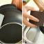 Home Decorate ฟองน้ำขัดคราบดำ ใช้ขัดหม้อ อลูมิเนียม โลหะชุบโครเมียม สีน้ำตาล (4 ก้อน) thumbnail 2