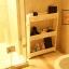 SECEN ชั้นวางของในที่แคบมีล้อเลื่อน วางไว้ในครัว วางไว้ในห้องน้ำ-3ชั้น (สีขาว) thumbnail 5