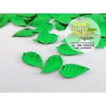 เลื่อมใบไม้ธรรมดา สีเขียว (1 ถุง ประมาณ 180 ใบ)
