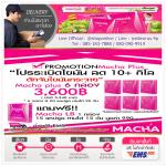 MACHA Plus Pro 6 กล่องแถมฟรี 1 กล่อง