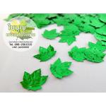 เลื่อมใบไม้ เมเปิล สีเขียว (1 ถุง ประมาณ 160 ใบ)