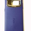 เคสซิลิโคน iFace Samsung Galaxy S7 edge สีน้ำเงินเข้มลายหนัง