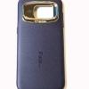 เคสซิลิโคน iFace Samsung Galaxy S7 edge สีดำลายหนัง