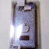 เคสมือถือกากเพชรขอบทองซิลิโคนติดห่วงมือถือ Samsung Galaxy J7 /๋710