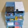 """กล่องอเนกประสงค์ แบบลิ้นชัก ใส่ได้สูงสุดไซส์ 46 สีน้ำเงิน """"Big Size"""" (10 กล่อง)"""