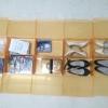 """กล่องอเนกประสงค์แบบเปิดฝาบน ใส่ได้สูงสุดไซส์ 40 สีส้ม """"Small Size"""" (10 กล่อง)"""