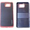 เคส motomo อลูมิเนียม Samsung Galaxy A9 สีดำกรอบแดง