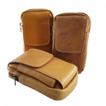 กระเป๋าคาดเข็มขัด หนังแท้ รุ่น H-003