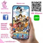 เคสวันพีช ลูฟี่ กลุ่มหมวกฟาง One Piece เคสโทรศัพท์ ซัมซุง A5 2015 #1002
