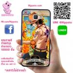 เคส J7 Prime เอส หมัดไฟ One Piece เคสโทรศัพท์ ซัมซุง #1041