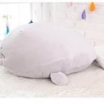 ตุ๊กตาแมวน้ำรุ่นตัวกลม ขนนุ่มลื่นไม่ล่วง ไม่อมฝุ่น ขนาดวัดจากจมูก-ขาหลัง70cm