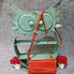 กระเป๋าสะพายหนังแท้ ปลดสายได้ รุ่น M-022