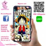 เคสลูฟี่น่ารัก ค่าหัว One Piece วันพีช เคสโทรศัพท์ ซัมซุง J7 2016 ยางซิลิโคน สีดำ