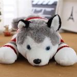 ตุ๊กตาสุนัขไซบีเรียน ขนนุ่ม ขนาดวัดจากจมูก-หาง65cm
