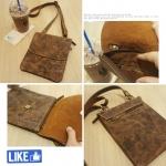 กระเป๋าหนังแท้ รุ่น M-015 ไซน์ S