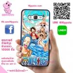 เคสวันพีช ลูฟี่ กลุ่มหมวกฟาง One Piece เคสโทรศัพท์ ซัมซุง A5 2015 #1003