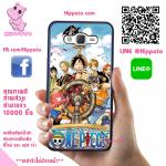 เคสสวยๆ One Piece วันพีช เคสโทรศัพท์ ซัมซุง J7 2016 ยางซิลิโคน สีดำ
