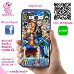 เคสวันพีช ลูฟี่ กลุ่มหมวกฟาง One Piece เคสโทรศัพท์ ซัมซุง A5 2015 #1004