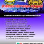 แนวข้อสอบ เจ้าพนักงานลิขิตปฏิบัติงาน สำนักเลขาธิการคณะรัฐมนตรี ((HOT))