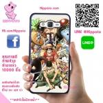เคสวันพีช ลูฟี่ กลุ่มหมวกฟาง เท่ๆ เคสโทรศัพท์ ซัมซุง A5 2015 #1023
