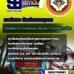 แนวข้อสอบนักทรัพยากรบุคคล กรมพัฒนาการแพทย์แผนไทยและการแพทย์ทางเลือก