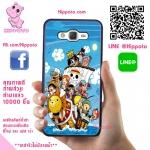 เคสวันพีช น่ารัก กลุ่มหมวกฟาง One Piece เคสโทรศัพท์ ซัมซุง A5 2015 #1026