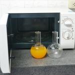 แก้วทรงกลมทนความร้อน 550C สามารถเข้าไมโครเวฟได้ (500 ml.) *2 ใบ*