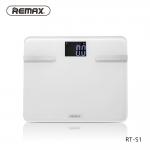Remax Body Scale (RT-S1) เครื่องชั่งน้ำหนักอัจฉริยะ เชื่อมต่อกับโทรศัพท์มือถือ