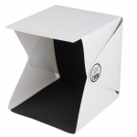 Light Room Mini Portable Foldable Photography Studio with LED Light กล่องถ่ายภาพขนาดเล็ก พับได้ พร้อมไฟ LED
