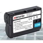SEIWEI Nikon Camera Battery แบตเตอรี่กล้อง นิคอน เทียบเท่า EN-EL15 for D7500 D7200 D810 D800 D610 D600 D750 D500