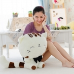 ตุ๊กตาแมวเหมียว หางยาว ขนนุ่ม กอดสบาย ขนาดวัดจากปลายเท้า-หัว70cm