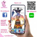 เคสสวยๆ One Piece วันพีช อาลัย เอส เคสโทรศัพท์ ซัมซุง J7 2016 ยางซิลิโคน สีดำ