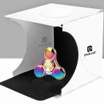PULUZ Mini Portable Foldable Photography Studio with LED Light กล่องถ่ายภาพขนาดเล็ก พับได้ พร้อมไฟ LED