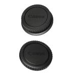 Canon EOS DSLR Rear Lens Cap ฝาปิดท้ายเลนส์ + Body Cap ฝาปิดบอดี้