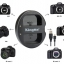 Kingma Canon LP-E6 LP-E6N USB Dual Battery Charger แท่นชาร์จแบ็ตเตอรี่ แคนนอน thumbnail 2