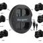 Kingma Nikon EN-EL15 EN-EL15a USB Dual Battery Charger แท่นชาร์จแบ็ตเตอรี่ นิคอน thumbnail 2