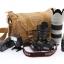 Grewalker Canvas Camera Bag กระเป๋ากล้อง แบบสะพายข้าง รุ่น L1 Upgraded thumbnail 5