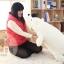 ตุ๊กตาหมีขั้วโลก รุ่นเม็ดโฟม ขนาดวัดจากจมูก-ขาหลัง110cm thumbnail 14