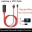 Lightning HDMI Cable สาย iPhone To TV เชื่อมต่อ iPhone/iPad เข้ากับทีวี thumbnail 1