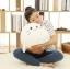 ตุ๊กตาแมวน้ำชิโรตันสีขาว รุ่นเม็ดโฟม ขนาดวัดจากจมูก-หาง25cm thumbnail 5