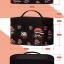 Ver.88 Cosmetic Bag กระเป๋าเครื่องสำอางค์ ดีไซต์ฮิป มีหูซิป รูดปี๊ด รูดปี๊ด thumbnail 2
