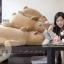 ตุ๊กตาหมีขั้วโลก รุ่นเม็ดโฟม ขนาดวัดจากจมูก-ขาหลัง110cm thumbnail 6