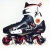 รองเท้าสเก็ต rollerblade แบบสลาลม รุ่น MCD สีดำ-ขาว Fixed Size 44, 45
