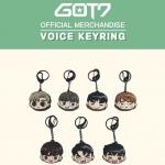 [#GOT7] VOICE KEYRING - พวงกุญแจ (ระบุชื่อศิลปินที่ช่องหมายเหตุ)
