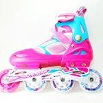 รองเท้าสเก็ต rollerblade รุ่น MZN สีชมพู-ฟ้า ไซส์ L
