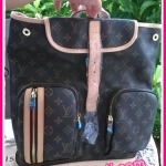 Louis Vuitton Monogram Canvas Backpack **เกรดท๊อปมิลเลอร์** (Hi-End)