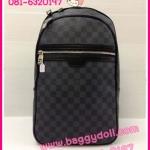 Louis Vuitton Damier Graphite Canvas Backpack **เกรดท๊อปมิลเลอร์** (Hi-End)