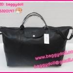 Longchamp Cuir หนังด้าน มี 4 ไซด์ S,M,L,XL สีดำ **เกรดท๊อปมิลเลอร์** (Hi-End)